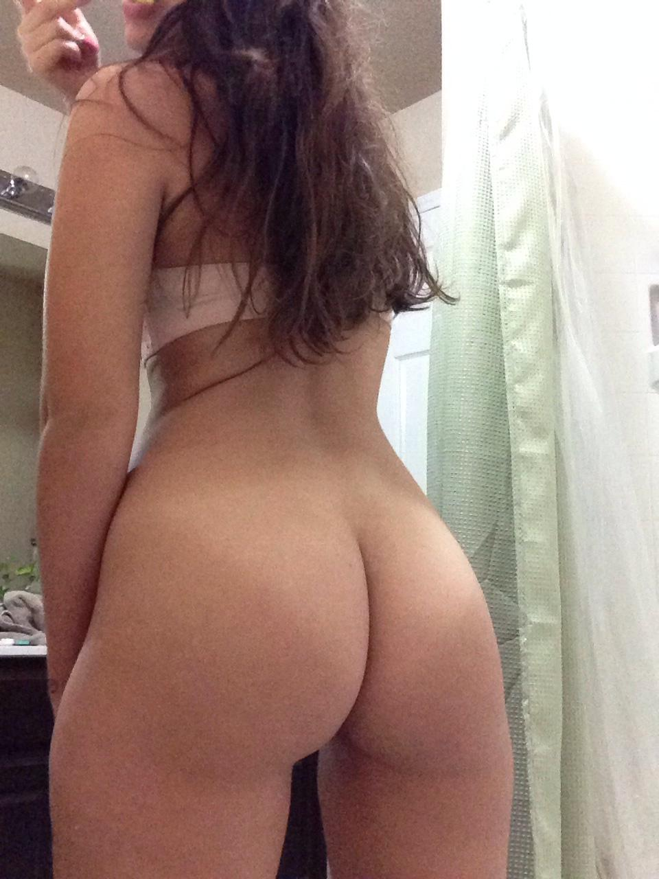 Nicest nude girl ass